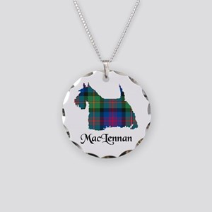 Terrier-MacLennan Necklace Circle Charm