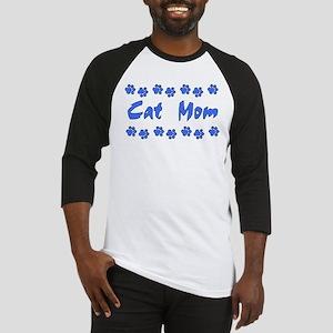 Cat Mom Baseball Jersey