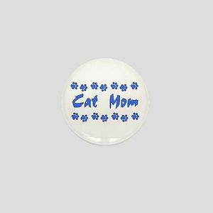 Cat Mom Mini Button