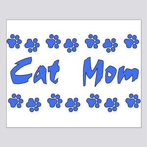 Cat Mom Small Poster