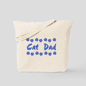 Cat Dad Tote Bag