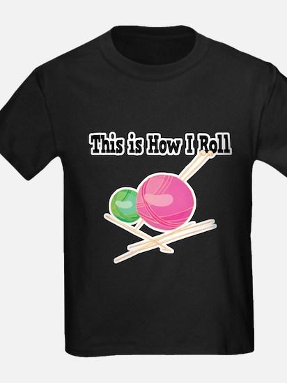 How I Roll (Yarn) T