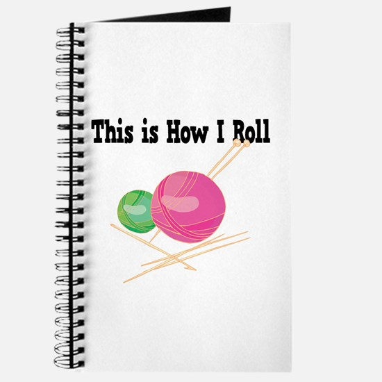 How I Roll (Yarn) Journal