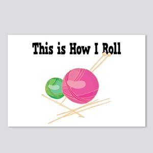 How I Roll (Yarn) Postcards (Package of 8)