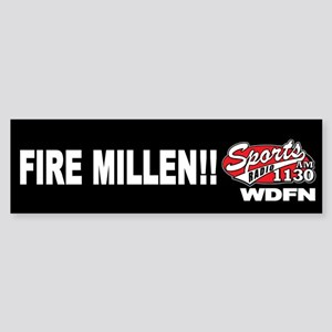 "WDFN ""Fire Millen"" Black Sticker"