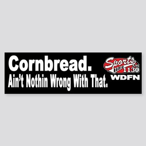 "WDFN ""Cornbread"" Black Sticker"