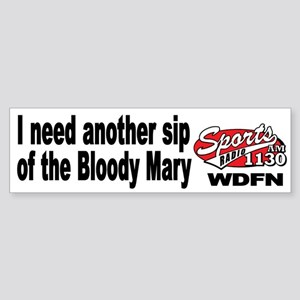 "WDFN ""Another Sip"" White Sticker"