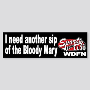 """WDFN """"Another Sip"""" Black Sticker"""