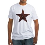 Old #1 Wiki Barnstar Fitted T-Shirt
