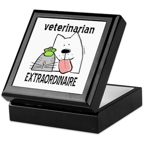 Veterinarian Extraordinaire Keepsake Box