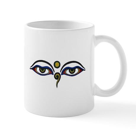 Buddha's eyes Mugs