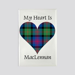 Heart-MacLennan Rectangle Magnet