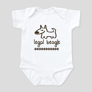 Legal Beagle Infant Bodysuit
