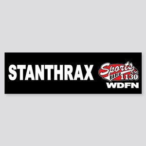 "WDFN ""STANTHRAX"" Black Sticker"