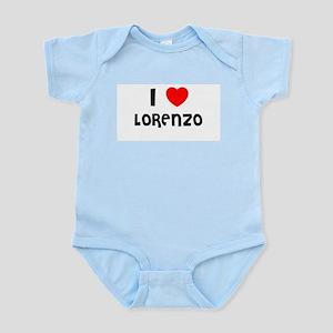 I LOVE LORENZO Infant Creeper