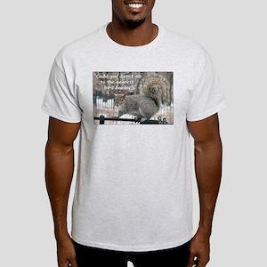 Squirrel Bird two Light T-Shirt