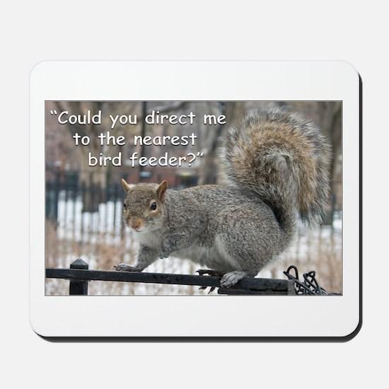 Squirrel Bird two Mousepad