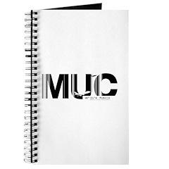 Munich MUC Germany Air Wear Code Journal