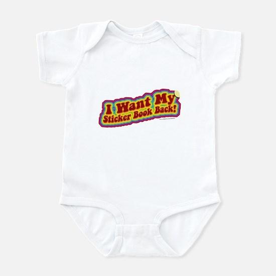 Sticker Book Infant Bodysuit