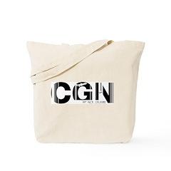 Cologne CGN Germany Air Wear Code Tote Bag