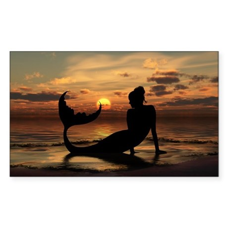 Daybreak Rectangle Sticker 10 pk)