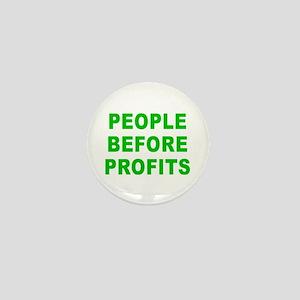 PEOPLE B4 PROFITS Mini Button