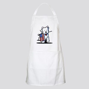 2008 JULY 4th Westie BBQ Apron