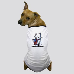 2008 JULY 4th Westie Dog T-Shirt
