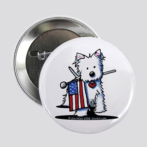 "2008 JULY 4th Westie 2.25"" Button"