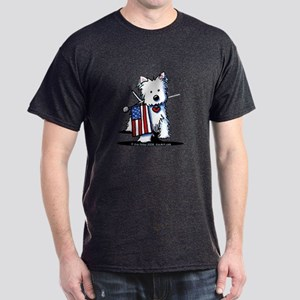 2008 JULY 4th Westie Dark T-Shirt