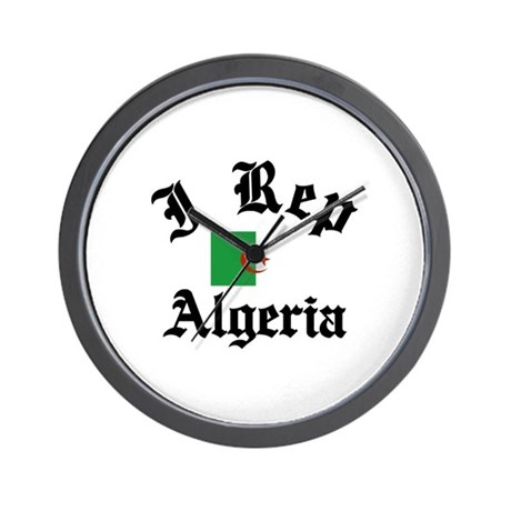 I rep Algeria Wall Clock