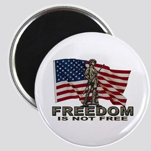 FREEDOM NOT FREE Magnet