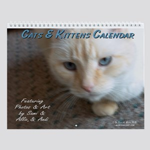 Cats & Kittens Wall Calendar by Sami