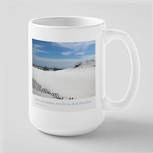 Sand Dunes Dream Large Mug