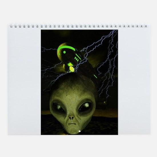Alien Mothership Wall Calendar