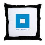 CREWTAG Throw Pillow