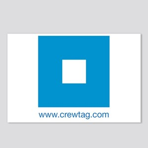 CREWTAG Postcards (Package of 8)