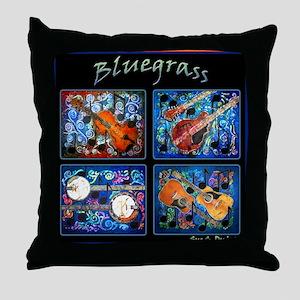 Bluegrass Throw Pillow