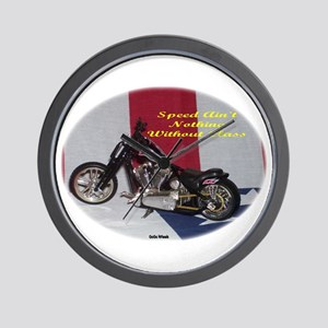 Speed Ain't Nothing Without Class Wall Clock