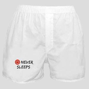 Never Sleeps Boxer Shorts