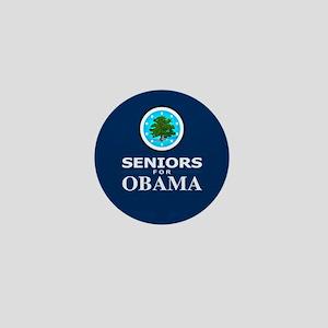 SENIORS FOR OBAMA Mini Button