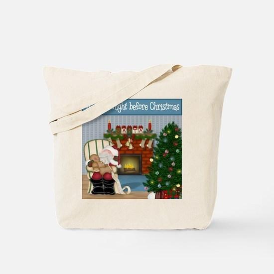 'Twas The Night Before Christmas Tote Bag