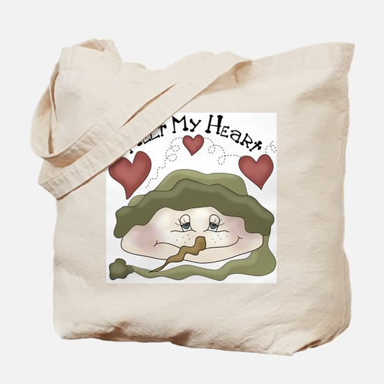 Melt My Heart Snowman Christmas Tote Bag