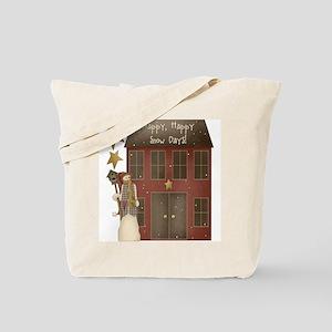 Happy Happy Snow Days Christmas Tote Bag