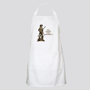 With Freedom(MM) BBQ Apron