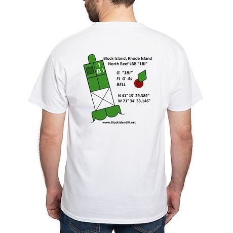 Block Island 1BI White T-Shirt