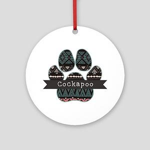 Cockapoo Round Ornament