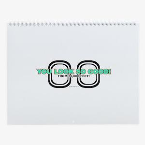 CREWTAG ASSORTED DESIGNS! Wall Calendar