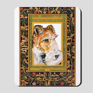 Vintage Fox Terrier Mousepad
