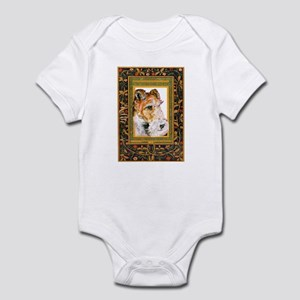 Vintage Fox Terrier Infant Bodysuit